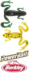 Силиконовая приманка Berkley PowerBait Kicker Frog (рынок USA)